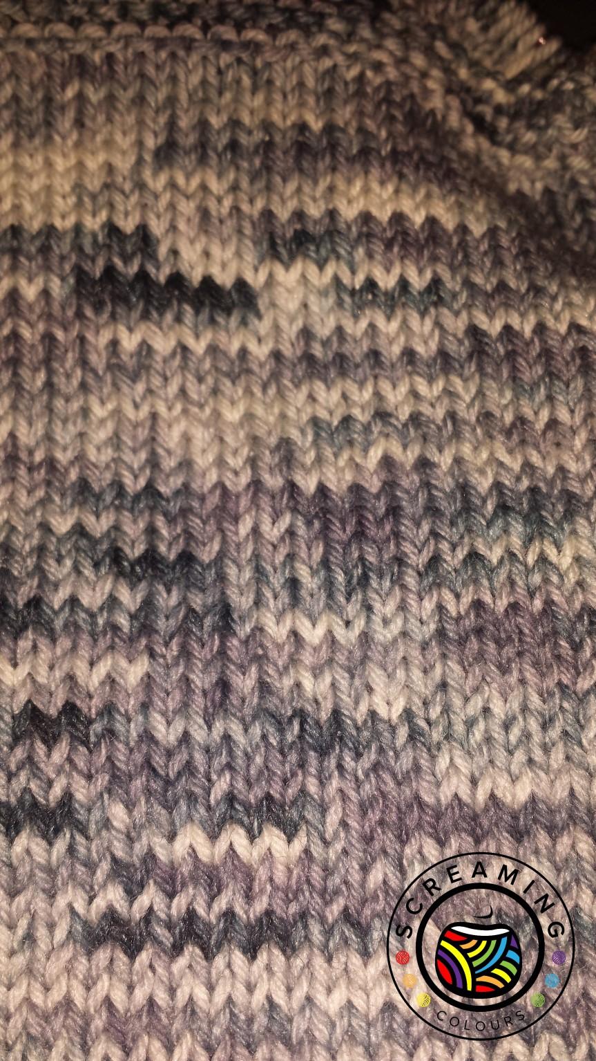 Strickbild Shades of Grey