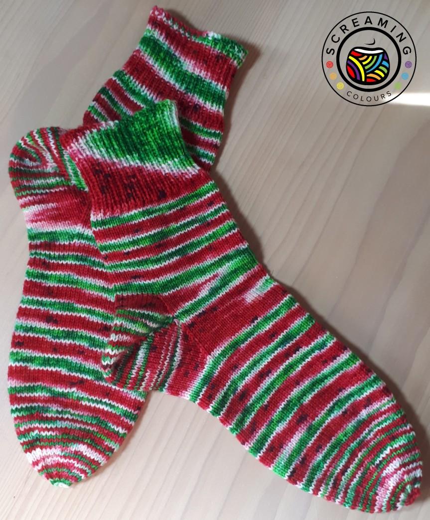 Wassermelone-Socken 1