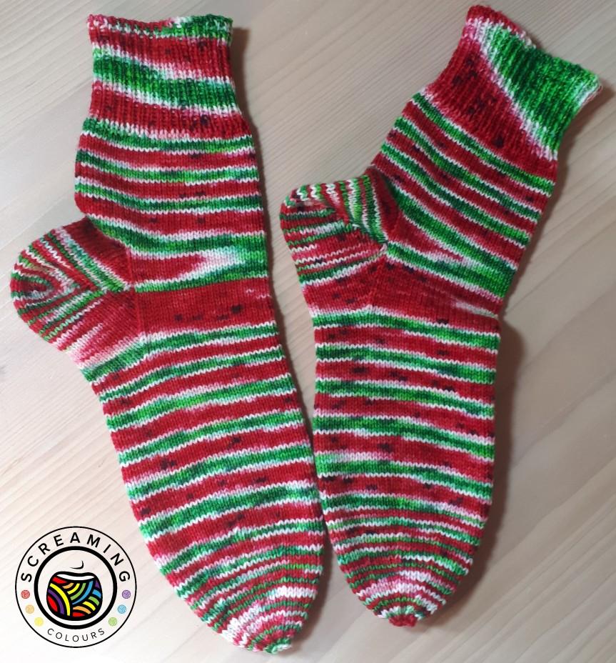 Wassermelone-Socken 2