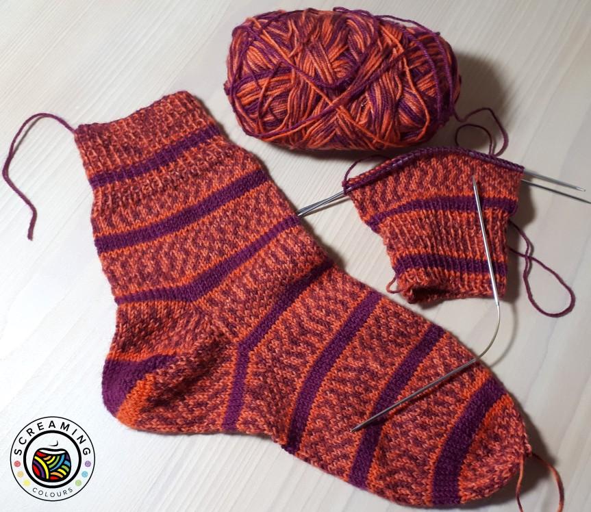 rote Socken 1. Zwischenbericht