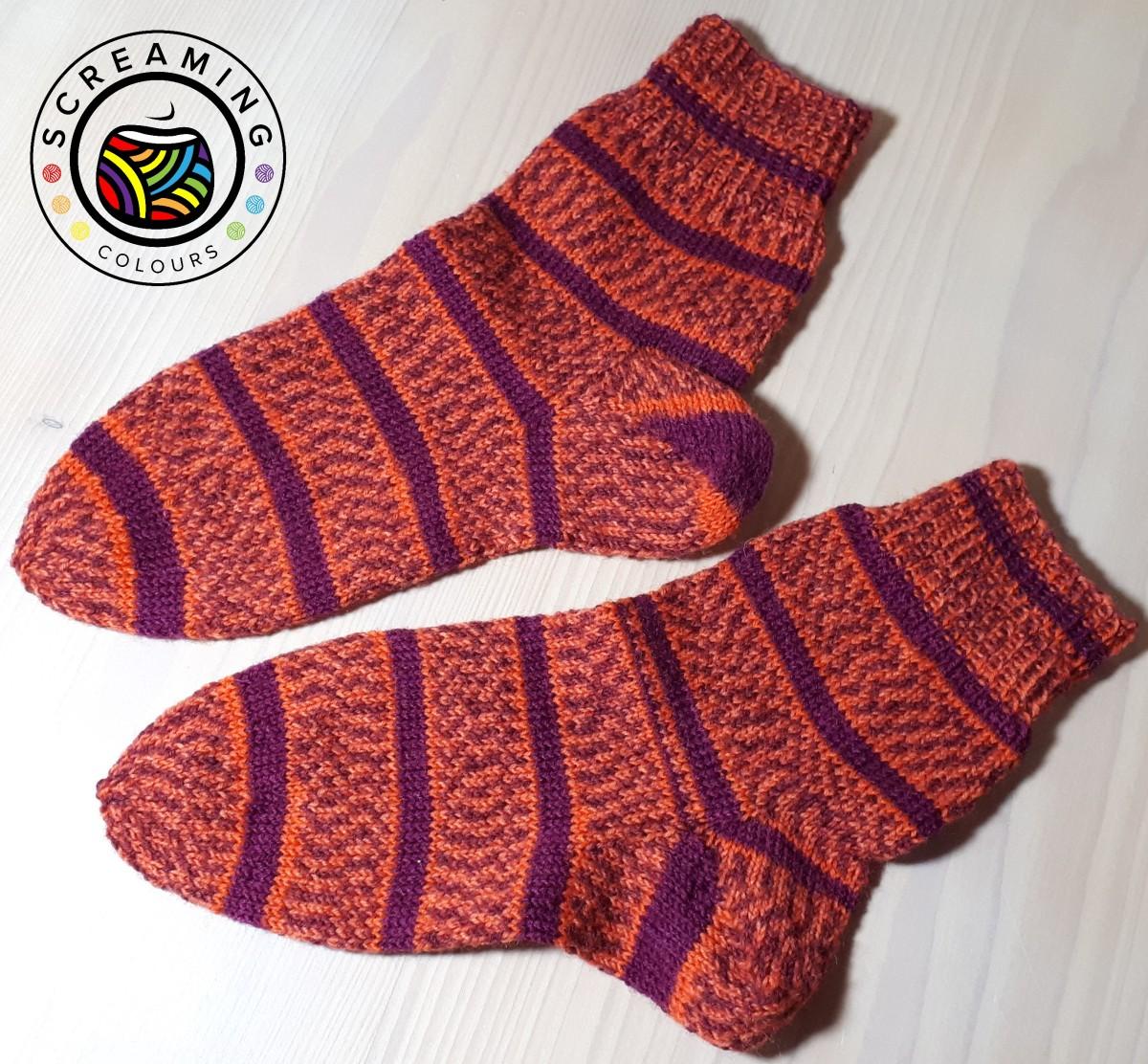 Ich sehe rote Socken!