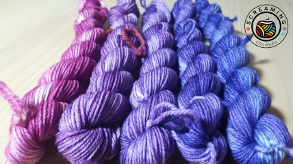 ColourHighTwist Minis Fade Lila 1