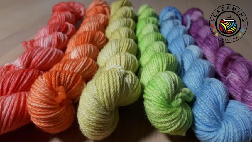 ColourHighTwist Minis Regenbogen pastell 1