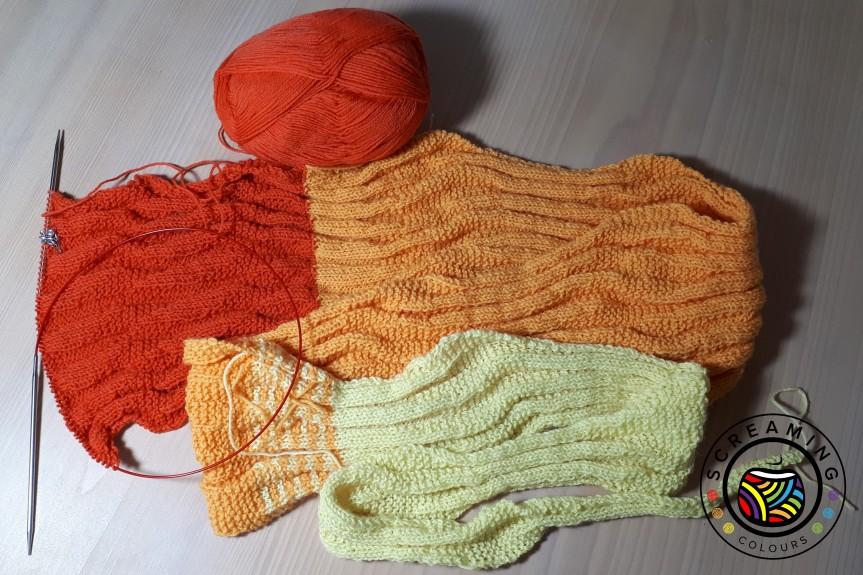 Sequence knitting Zwischenbericht 2