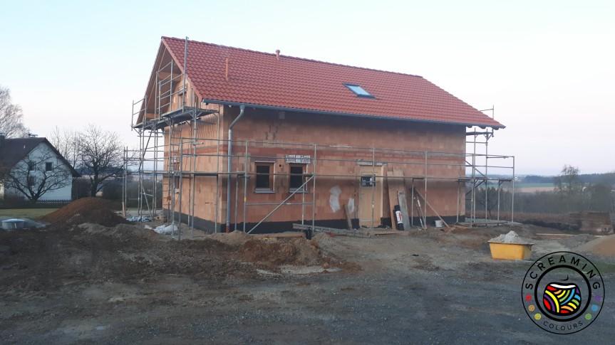 Unser Traum vom Haus – Estrich, Solaranlage undTrockenbaudecke