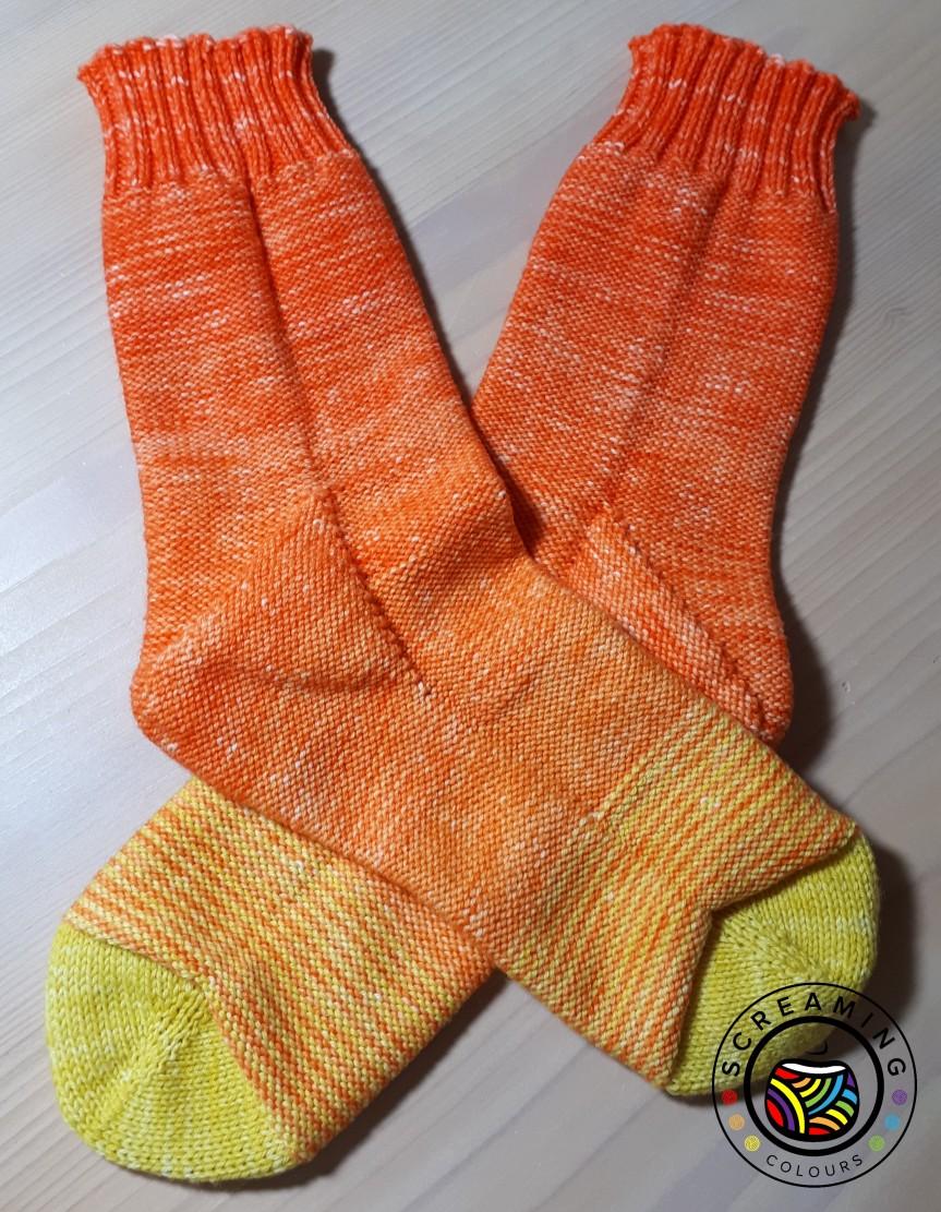 Fluorite Socks fertig 2