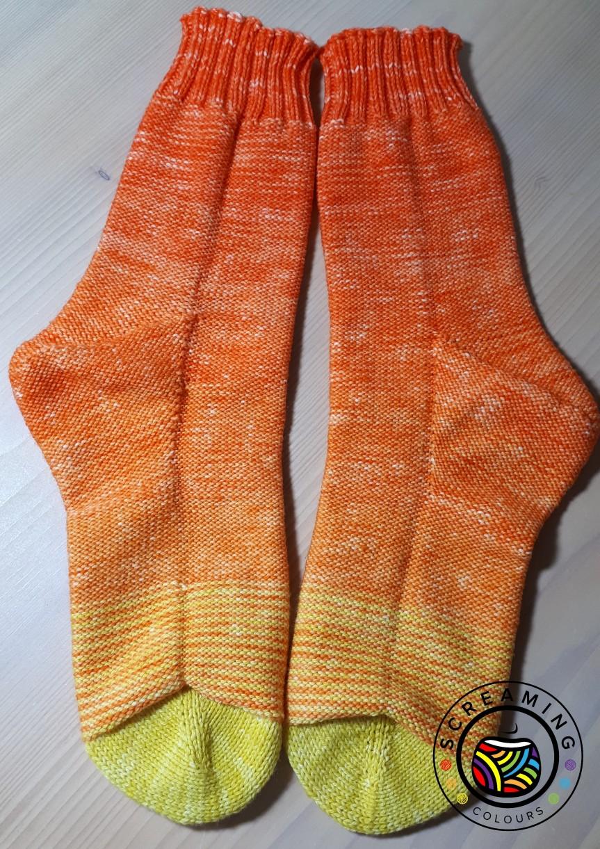 Fluorite Socks fertig 3