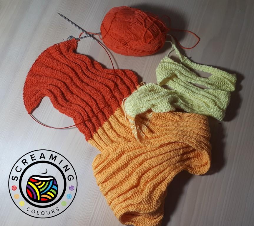 Sequence knitting Zwischenbericht 3