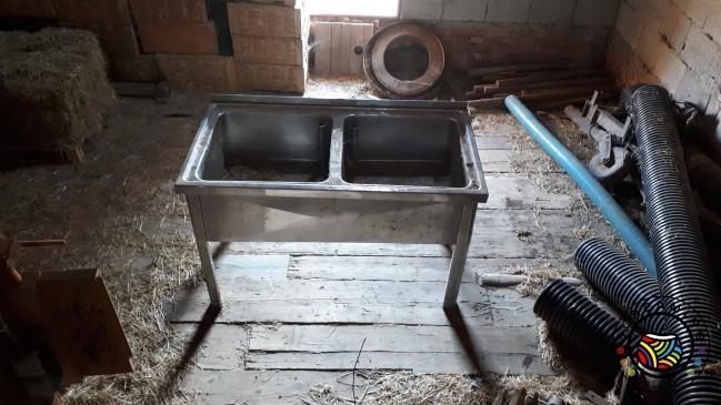 Waschbecken für Werkstatt