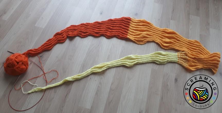 Sequence knitting Zwischenbericht 5