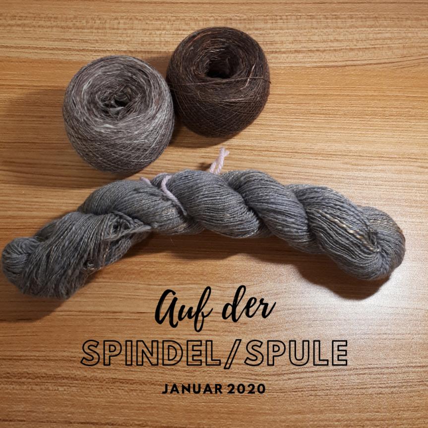 Auf der Spindel/Spule – Januar2020