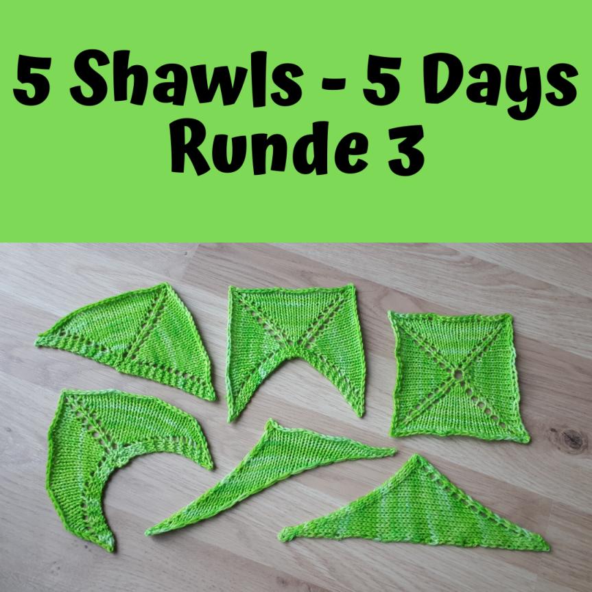 5 Shawls – 5 Days, Runde3