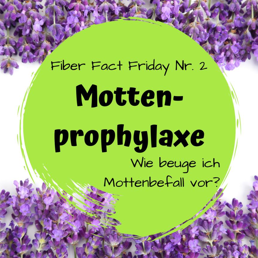 Fiber Fact Friday Nr. 2: Mottenprophylaxe – Wie beuge ich einem Mottenbefallvor?